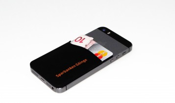card houder telefoon