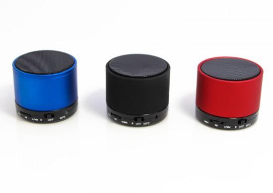 bluetooth speaker met logo