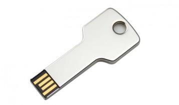 USB-sleutel-zilver