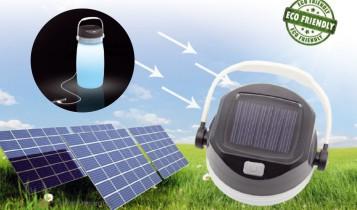 solar powerbank lamp