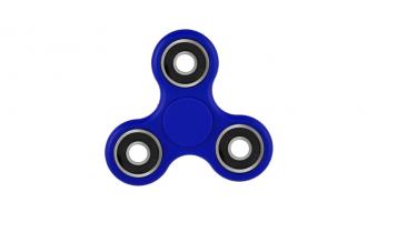 Fidgetspinner-blauw